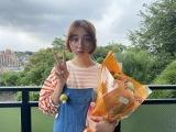 『武士スタント逢坂くん!』をクランクアップした長井短 (C)ヨコヤマノブオ・小学館/NTV・J Storm