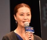 『劇場版 ルパンの娘』完成披露舞台あいさつに出席した観月ありさ (C)ORICON NewS inc.