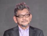 『シン・仮面ライダー』登場怪人について話す庵野秀明氏 (C)ORICON NewS inc.