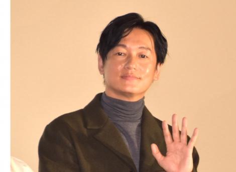 劇場オリジナルアニメ『神在月のこども』(8日公開)の完成披露舞台あいさつに登壇した井浦新 (C)ORICON NewS inc.