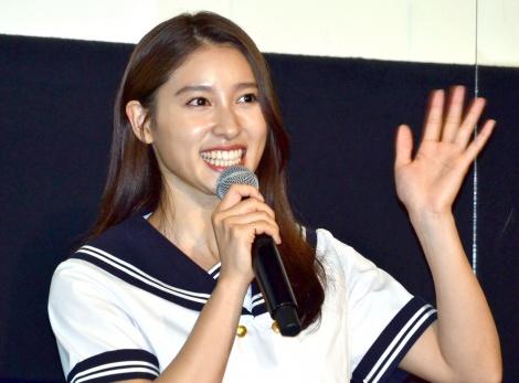 アニメ映画『アイの歌声を聴かせて』特別試写会に登壇した土屋太鳳 (C)ORICON NewS inc.