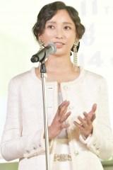 『第29回フランス映画祭』のラインナップ発表記者会見に出席した杏 (C)unifrance
