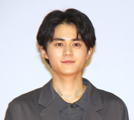 映画『かそけきサンカヨウ』公開記念舞台あいさつに登壇した鈴鹿央士 (C)ORICON NewS inc.