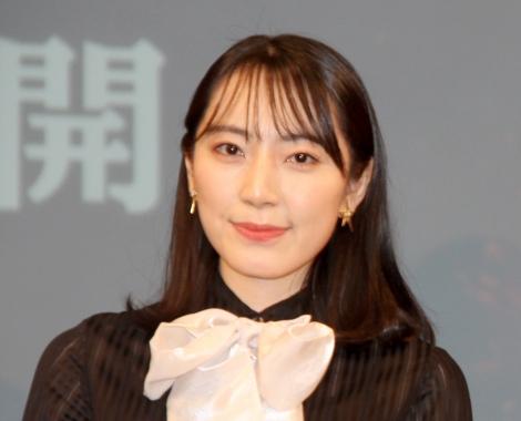 映画『ハロウィン KILLS』ジャパンプレミアイベントに登壇した松井咲子 (C)ORICON NewS inc.