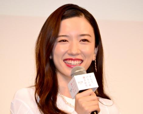 年下の学生ファンに助言をした永野芽郁=映画『そして、バトンは渡された』学生限定試写会イベント(C)ORICON NewS inc.