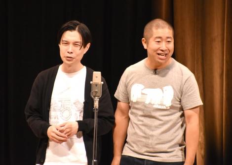単独ライブ『!』を開催したハライチ(左から)岩井勇気、澤部佑 (C)ORICON NewS inc.